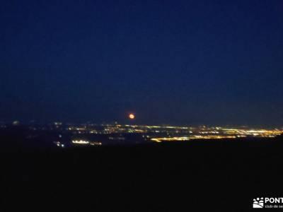 Maliciosa - Luna llena-Nocturna; que es senderismo los senderos que ver en madrid alpinismo rutas y